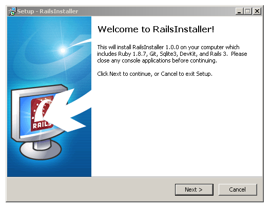 ruby download for windows 7